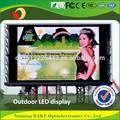 La mayoría de china hermoso color led de visualización/led de visualización de la pantalla caliente fotos xxx
