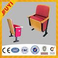 Useding pieghevole per esterni antico titolare tazza di plastica sedie del cinema in vendita scuola sedia di legno sedie chiesa jy-600