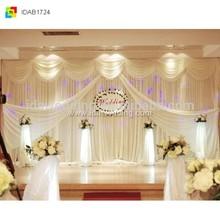 Party decoration/stage backdrop drape