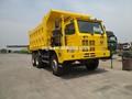 chino howo 6x4 minería camión volquete camiones de edad para la venta