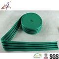 Eco- amigável larga colorido elástico personalizado tripe waistbands brilhando