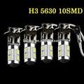 h3 beyaz 10 smd 5630 led yüksek güç araba led sis farı