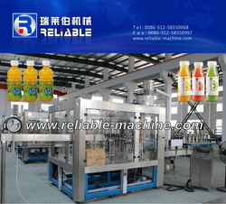 Small Scale Fruit Juice and Hot Tea Filling Machine