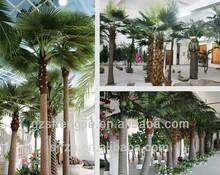 artificial palm tree for entertainment park decoration