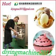 Capacity 16-60l/h hard ice cream combined machine / commercial gelato combined machine