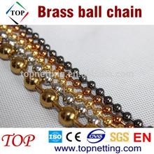 Antique bronze tone Brass Ball Chain