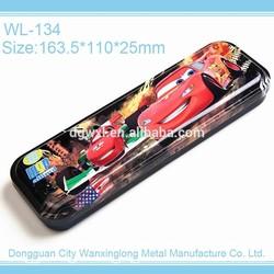 Cool rectangular pencil-box, customized tin box for pencil packing