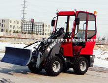 D25 1 TON Mini skid steer Loader for sale with Perkins Engine CE /EPA mini shovel loader