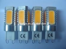 G9 7w Warm White Cob Led Light Lamp Bulb Ac 110v Ac 220v