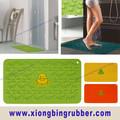 2015 caliente de la venta de goma alfombra de baño y de silicona alfombra de baño