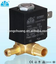 solenoid valve for industrial heater