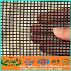 mosquito block stainless steel diamond mesh