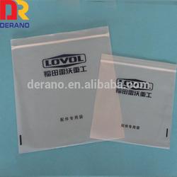 custom resealable plastic zipper bag for packaging