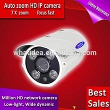 HD 1080P Smart IR/White LED Box IP Camera(WT-8222WR-M)