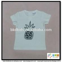 BKD GOTS organic cotton pineapple printed little boy tshirts