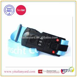 2015 Luggage belt digital lock