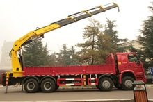 Sino truck heavy duty dump tipper