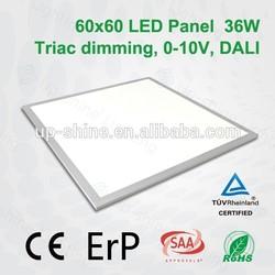 Ultra Thin CE SAA TUV certificate 60 60 Panel LED 45W White Frame