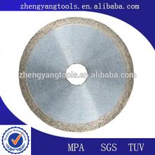 concrete diamond segment disc cutter finishing blades