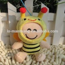 12CM New design plush bee toy