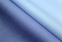 Woven 100% long stapled cotton combed yarn poplin tc fabric READY GOODS high quality shirt fabric