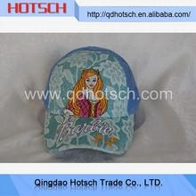 Novelties wholesale china custom printed 5 panel mesh trucker hat