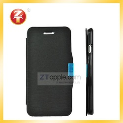 """Magnetic Matte Flip Case PU Leather Cover for Apple iPhone 6 4.7"""""""
