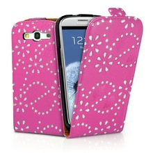 High quality Fashion cheap diamond bling mobile phone case for Samsung galaxy S3 I9300