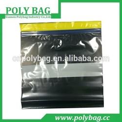 clothing packaging zip bag waterproof made in China