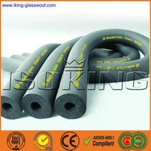 Elastomeric foam rubber thermal insulation pipe