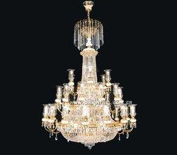 china gold finish Latest Popular cristal lights