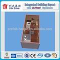 Recipiente pré-fabricadas casa com 1 quartos e banheiro