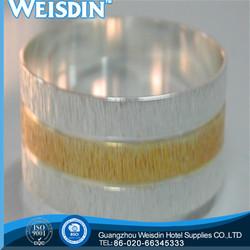 metal new style carbon steel wedding napkin ring idea