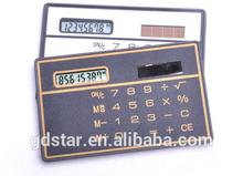 Business gift Big Logo Mini solar pocket calculator