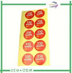 fruit paper sticker label