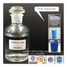 Oil Mining Metal Textile Use (BV/SGS/ISO) Sulfuric Acid 98% (Sulphuric Acid)