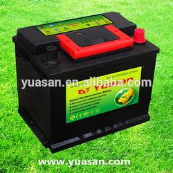 New Make 12V 45AH Maintenance Free SLI Car Accumulator DIN 45 MF Auto Battery