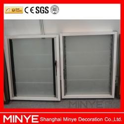 Aluminum/PVC Profile Louver Window Frames/Rolling Shutter Windows for Sale