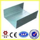 u shape aluminum extrusion profiles