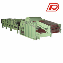 Waste cotton fabric cloth crushing machine