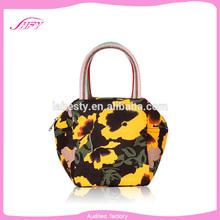 The newest arrival flashing bag female foldable shopping bag