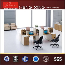 Top grade eco-friendly cross design office workstation cubicle