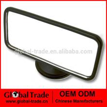 12*5.5CM Suction Miorror Rear View Mirror Windscreen Car Cosmetic Flat mirror A0376