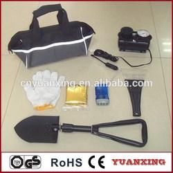 car safety tool,professional roadside auto emergency tool kit YXQ201201