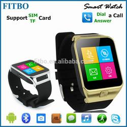 New Bluetooth Sync Sleep Monitor FTB17 mtk 6250 smart watch phone
