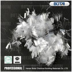 pp fiber application industrial cement mixer fiber mesh reinforcement