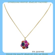 new-designed aroma ball-flower pendant