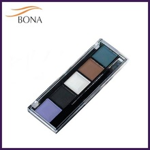 Wholesale makeup supplies private label 5 colors eye shadow for cosmetic kit
