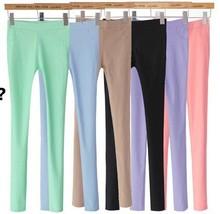 women fashion pencil pants cotton pencil pants