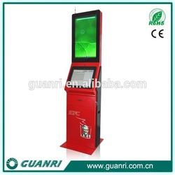 Guanri K08 19/32 inch touch display financial industry prepaid card vending kiosk